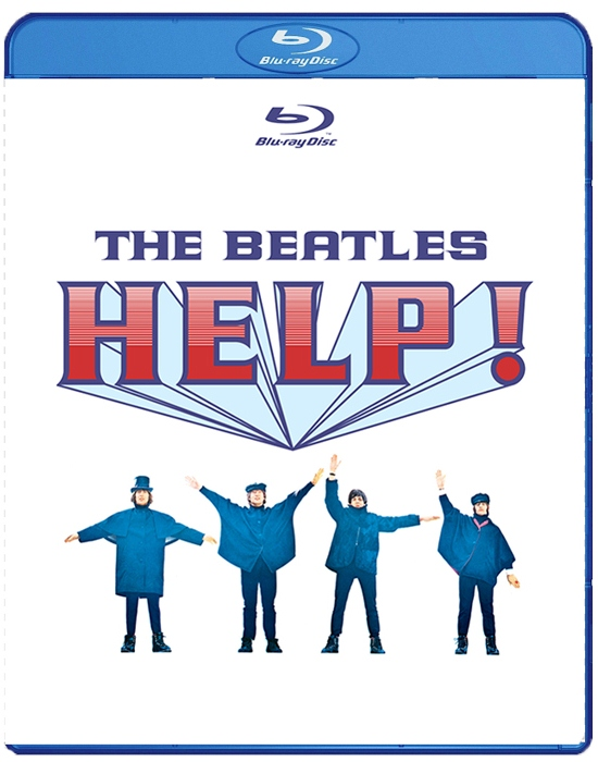 Новые DVD: Фантастика: The Beatles Help (The Beatles На помощь) (Blu-ray)