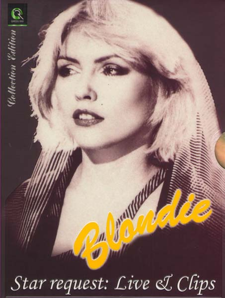 Blondie Star request: Live&Clips (2 DVD)