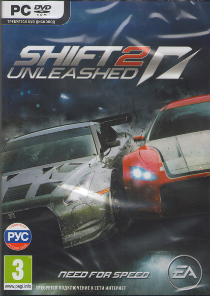 Shift 2 Unleashed Need For Speed (PC DVD)