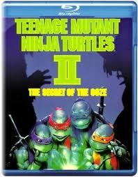Черепашки мутанты ниндзя 2 (Blu-ray)