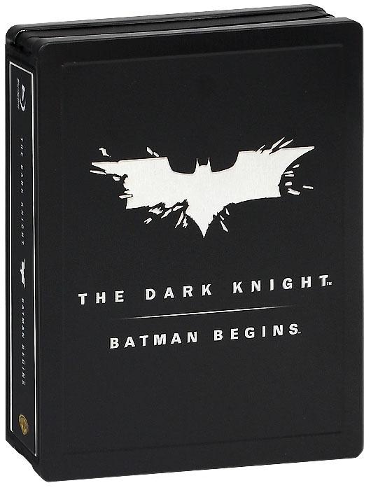 Бэтмен Начало / Темный рыцарь (3 Blu-ray)