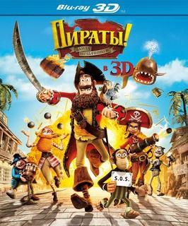 Пираты Банда неудачников 3D (Blu-ray 50GB)