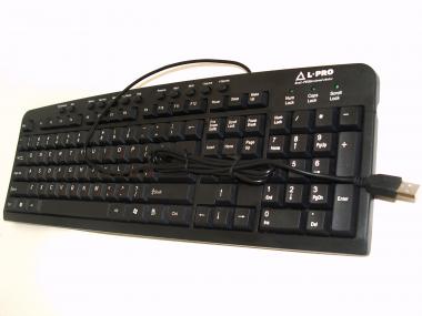 Клавиатура L-PRO 8002/1220 USB black