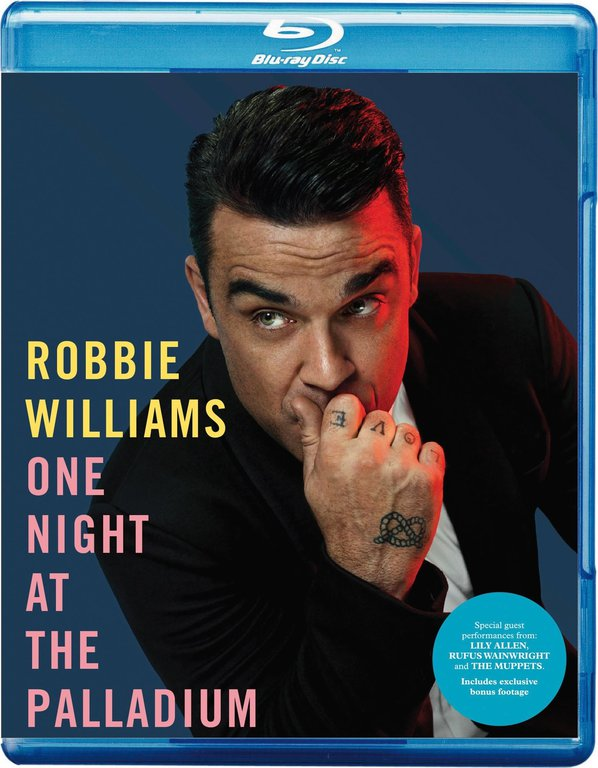 Robbie Williams One Night at the Palladium (Blu-ray)