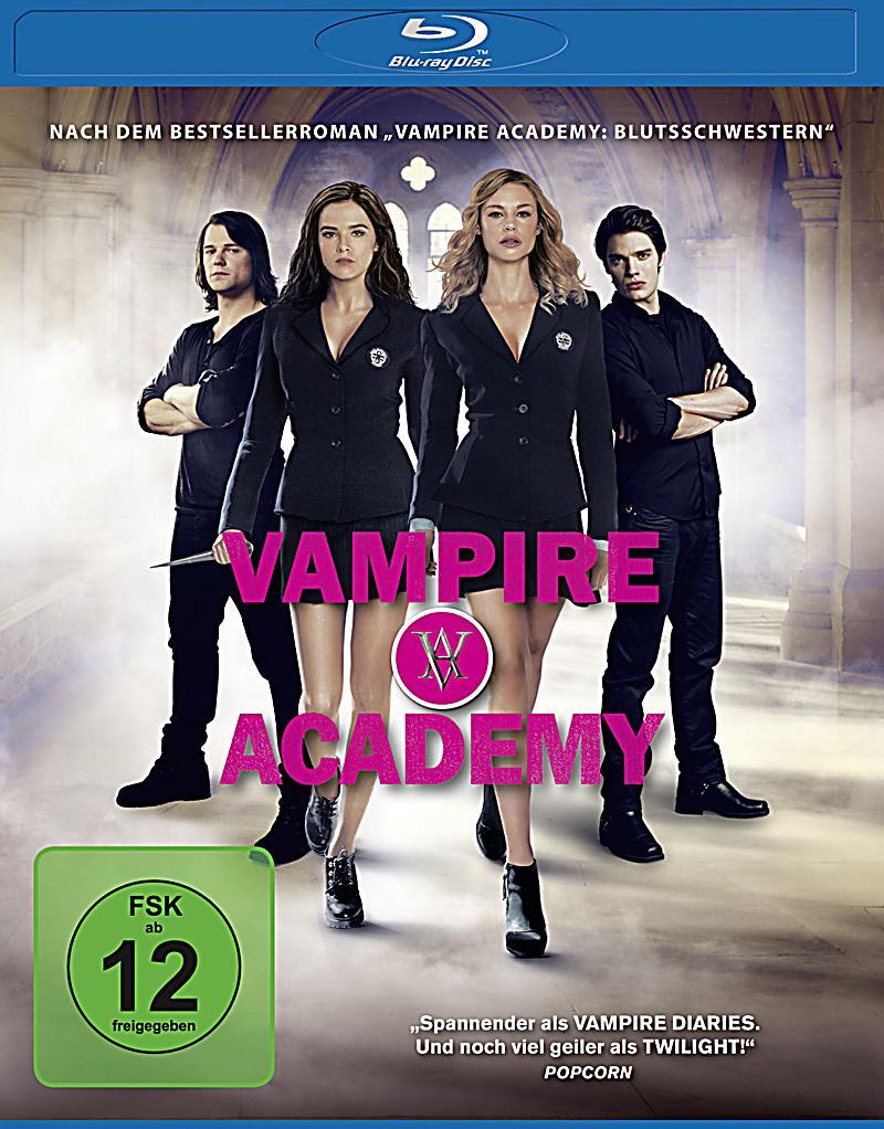 Новые DVD: Ужасы: Академия вампиров (Blu-ray)