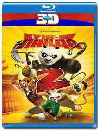 Кунг-фу Панда 2 Пандамания продолжается 3D 2D (Blu-ray 50GB)