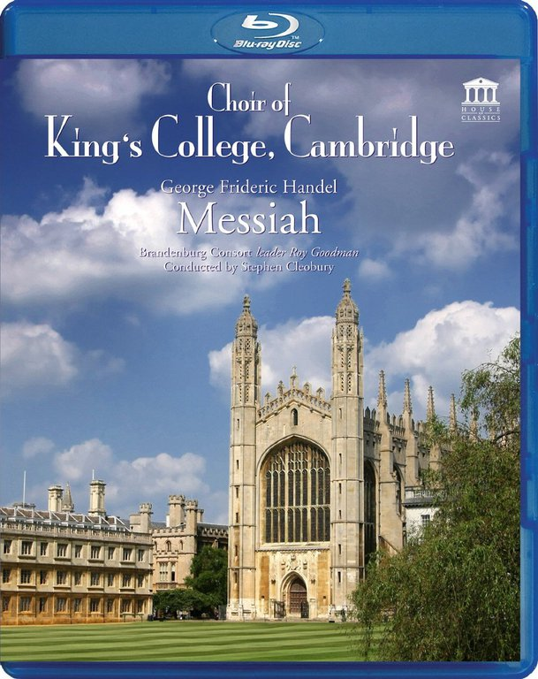 Handel Messiah The Choir Of Kings College Cambridge (Гендель Мессия) (Blu-ray)