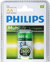 Аккум. PHILIPS R-06 2600   mA 2 шт