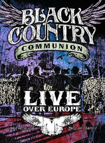 Black Country Communion Live over Europe