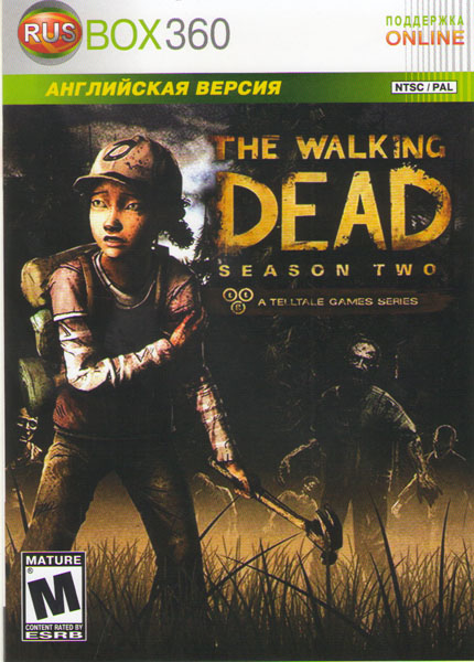Фильмы и музыка на DVD - новинки: The Walking Dead Season Two (Xbox 360)
