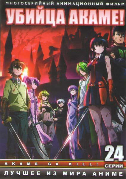 Убийца Акаме ТВ (24 серии) (2 DVD)