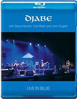 Djabe Live in Blue (with Steve Hackett, Gulli Briem and John Nugent) (Blu-ray)