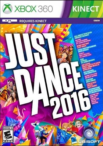 Фильмы и музыка на DVD - новинки: Just Dance 2016 (Xbox 360 Kinect)