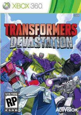 Фильмы и музыка на DVD - новинки: Transformers Devastation (Xbox360)
