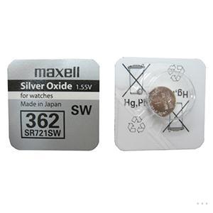 Элемент питания Maxell SR-721 SW (362) 1бл10100