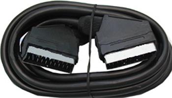 Аудио видео кабель SCART - SCART ( 21 pin, полный) 1,5 м